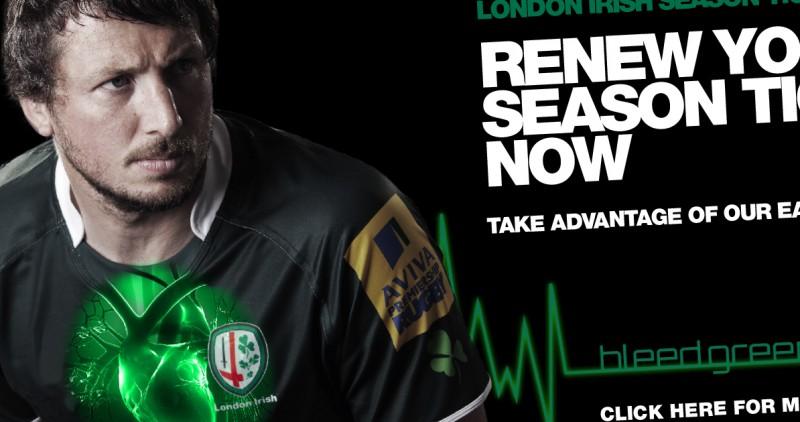 Sports ticket sales advertising
