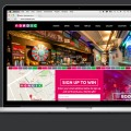 responsive website for bar chains